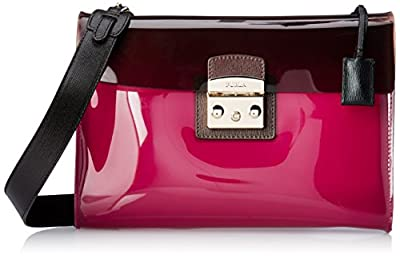 FURLA Candy Vanilla Medium Pouchette Clutch