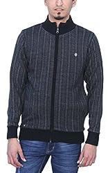 Romano 100% Wool Front Zipper Warm Winter Sweater for Men