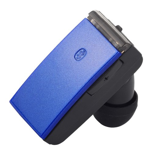 iBUFFALO 【iPadmini,iPad(Retinaディスプレイ),iPhone5対応】超軽量、超小型ボディで通話も、音楽も、ワンセグも楽しめる Bluetooth3.0+EDR対応 超小型ヘッドセット ブルー BSHSBE18BL