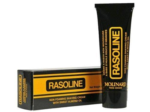 Rasoline by Molinard 4.64 oz / 130 ml Non Foaming Shaving Cream Brand New in Retail Box