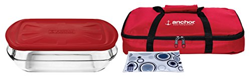 Anchor Hocking  Essentials Tote Set with Embrace Lid (Set of 4)
