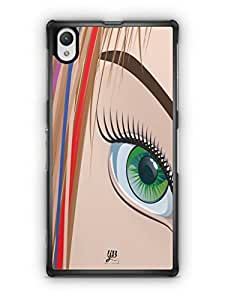 YuBingo Look at my Eye Mobile Case Back Cover for Sony Xperia Z1