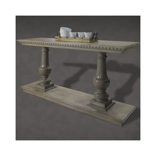 French restoration small provence dual for Wood balusters for tables