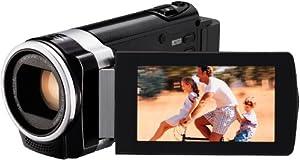 JVC GZ-HM440BEU Full HD Camcorder (SD-Kartenslot, 40-fach optischer Zoom, 6,9 cm (2,7 Zoll) Display, HDMI-Kabelanschluss) schwarz