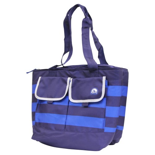 Igloo Dual Compartment Cooler Tote Bag - Navy/Royal front-516689