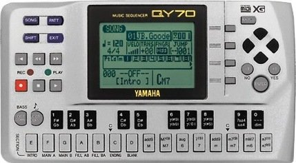 New Yamaha Qy70 Audio Sequencer Midi