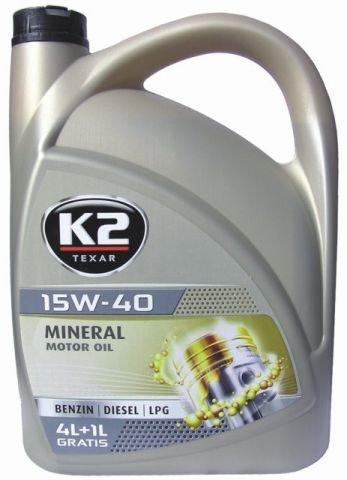 Motoröl Öl mineralisch 5l 15W-40 BENZIN DIESEL