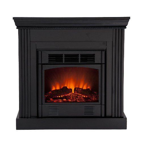 Shopping Sei Wexford Petite Convertible Electric Fireplace Black This Review