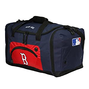 Click to buy Boston Red Sox Logo Merchandise: Boston Red Sox Duffle Bag from Amazon!
