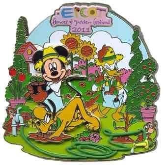 Disney Pin Epcot Flower & Garden 2011 Jumbo Le 500 NEW Pin 83043
