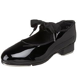 Capezio Women s N625 Jr. Tyette Tap Shoe Black Patent 5.5 W US