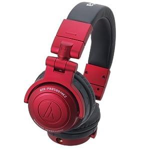 Audio-technica Ath-pro500mk2rd Red Professional Dj Monitor Headphones