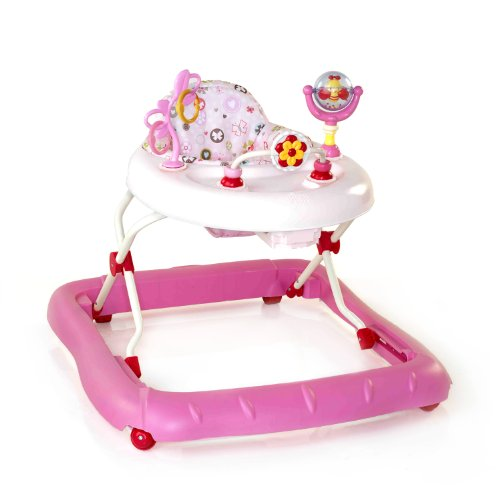 Bright Starts Walk-A-Bout Walker, Pretty in Pink