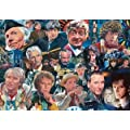 Legends: Who's Who - Doctor Who 1000 Piece Deluxe Jigsaw Puzzle