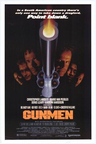 Gunmen Movie Poster (27 X 40 Inches - 69Cm X 102Cm) (1993) -(Christopher Lambert)(Mario Van Peebles)(Denis Leary)(Patrick Stewart)(Kadeem Hardison)(Sally Kirkland) front-368141