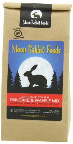Moon Rabbit Gluten Free Pancake and Waffle Mix, 17.2Ounce Picture