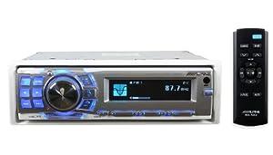Alpine CDA9886M / CDA-9886M / CDA-9886M Marine CD Receiver with iPod Controls by Alpine