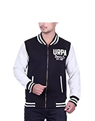 United Rugby Polo Men'S Sweatshirt (Urp1020Blk_Black_Medium)