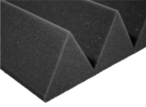 12 Pack Of (12X12X4)Inch Acoustical Wedge Foam Panel For Soundproofing Studio & Home Theater-Charcoal Grey