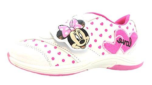 Disney Lois, Sneaker bambine Bianco bianco, Bianco (bianco), 2 UK
