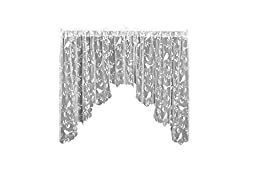 Heritage Lace Bristol Garden Swag Pair, 72 by 36-Inch, White by Heritage Lace
