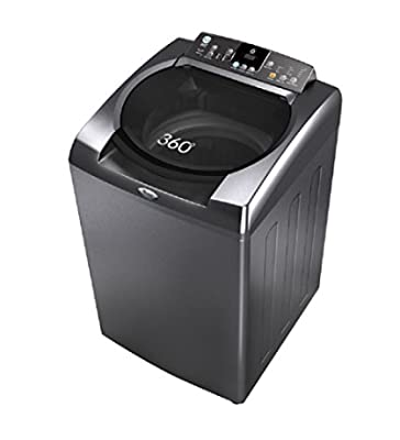 Whirlpool 360H Top-loading Washing Machine (8 Kg, Silver)