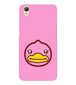 EPICCASE Happy Duck Mobile Back Case Cover For OPPO A37 (Designer Case)