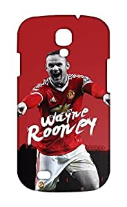 Samsung Galaxy S4 Manchester United Football Club Design Back Cover - Printed Designer Cover - Hard Case - SGS4CMBMUFC0198