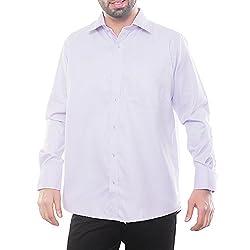 VinaraTrends Purple Color Cotton Shirt For Men