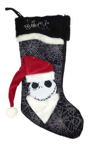 Disney Park Nightmare Before Christmas Halloween Stocking Jack Skellington