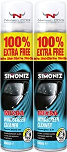 Mixra Windscreen Cleaner SIM34-2 250ml Plus 100% EXTRA FREE - 2Pk