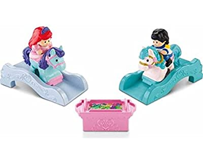 Fisher Price Toy - Little People Klip Klop Ariel and Prince Eric - Disney Figures