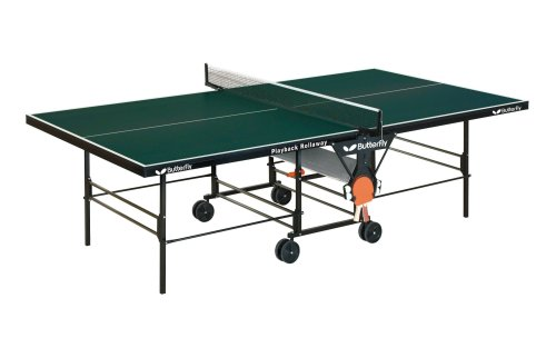 Butterfly TR26 Playback Rollaway Table Tennis Table (Green)