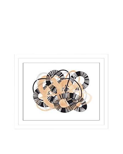 "Jaime Derringer ""Sandworm III"" Artwork on Framed Paper"
