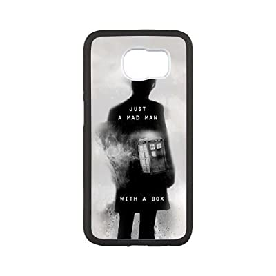 Classic New Tardis Doctor Dr Who Police Box Series Cell Phone Case For SamSung Galaxy S6(5)