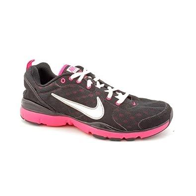 Nike Flex Trainer Womens Size 10 Black Mesh Cross Training Shoes UK 7.5