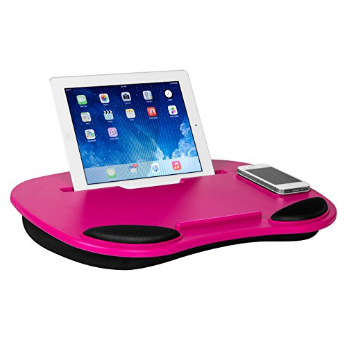 LapGear Smart Media Desk Dark Pink Computer and Tablet LapDesk (Lap Tablet Stand compare prices)