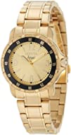 Invicta Womens 0550 Angel Collection 18k Gold-Plated Stainless
