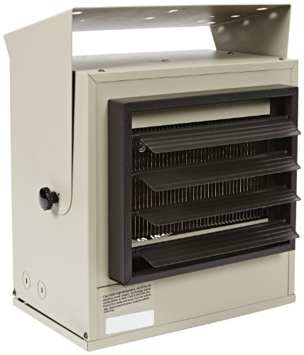 Tpi Corporation Hf5605T Fan Forced Unit Heater, Multi-Wattage, 5000/4165/3332/2500W At 240V, 3750/3123/2500/1874W At 208V