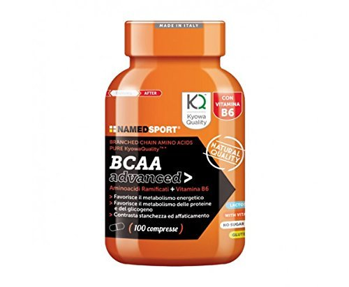 BCAA Advanced - Named - Branched Chain Amino Acids PURE KyowaQualityTM (300 compresse)