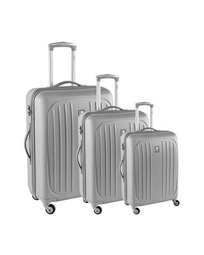 Delsey Set de 3 trolleys rígidos Hydre
