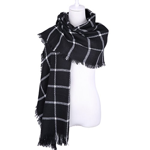 Colorful House Womens Oversize Fashion Scarf Shawl Blanket ...