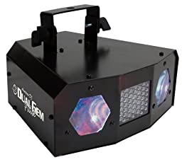 American Dj Dual Gem Pulse Effect Light Moonflower With Strobe