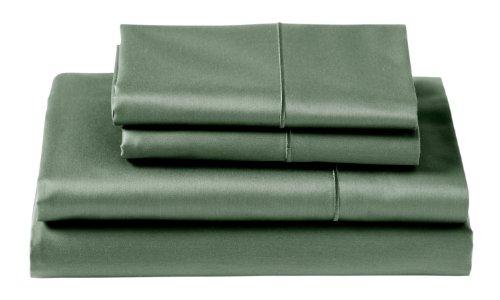 Green Satin Sheets front-122775