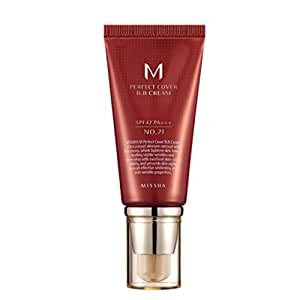 Missha M Perfect Cover BB Cream #21 Light Beige 1.7Oz/50Ml