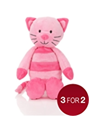 Stripy Cat Soft Toy