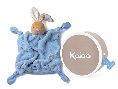 Kaloo K969475 - Plume Doudou Coniglio, Celeste, 20 cm