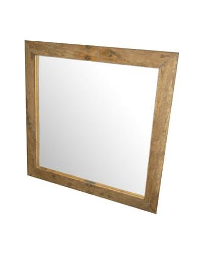 Jeffan Karel Square Mirror, Natural