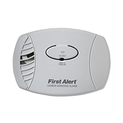 First Alert CO600 Plug-In Carbon Monoxide Alarm with Silence Feature and Electro, by First Alert