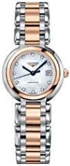 Longines PrimaLuna Automatic Diamond Mother of Pearl Dial